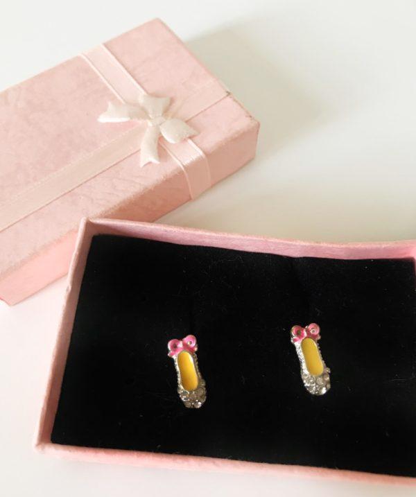 Accesorios de Ballet: pendientes de zapatillas de ballet miniatura de Adagio Dancewear