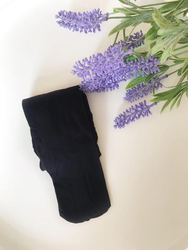 Accesorios de ballet: medias de ballet negras Adagio Dancewear