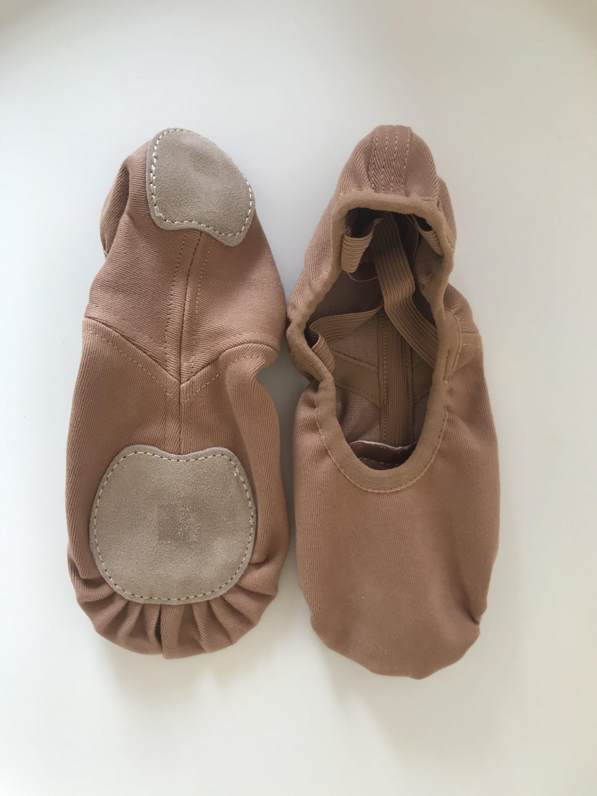 Accesorios de Ballet: Zapatillas de Ballet Marrones Adagio Dancewear
